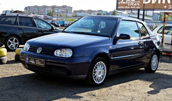 Volkswagen Golf IV Cabrio 2000 full