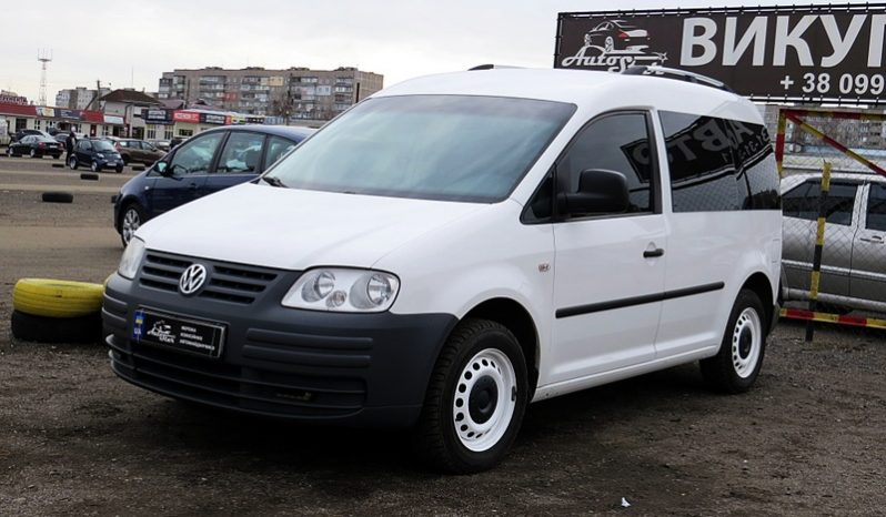 Volkswagen Caddy пасс. 2007 full