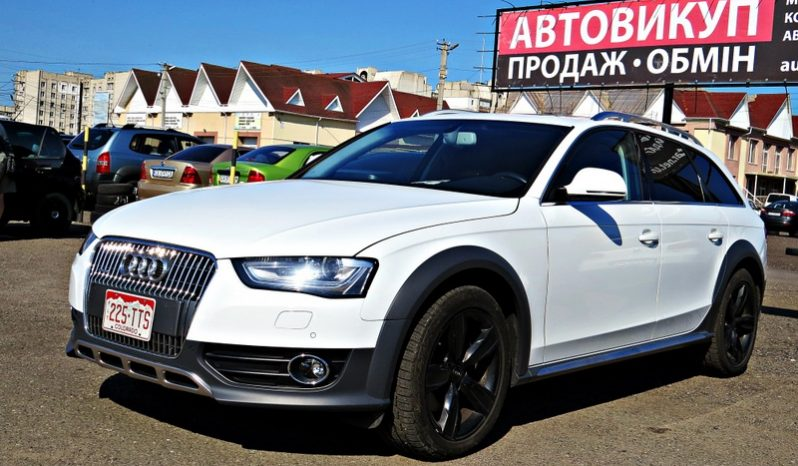 Audi A4 Allroad 2013 full