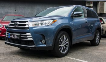 Toyota Highlander XLE AWD 2017 full