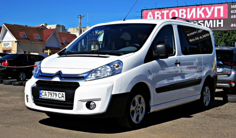 Citroen Jumpy пасс. 2013 full