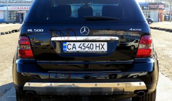 Mercedes-Benz ML 500 2006 full